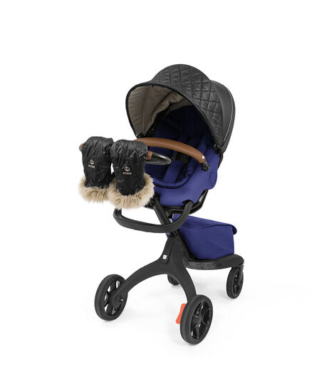 Stokke® Xplory® X Royal Blue with Seat and Winter Kit, without Storm Cover, Footmuff and Sheepskin Rim. Active. view 9