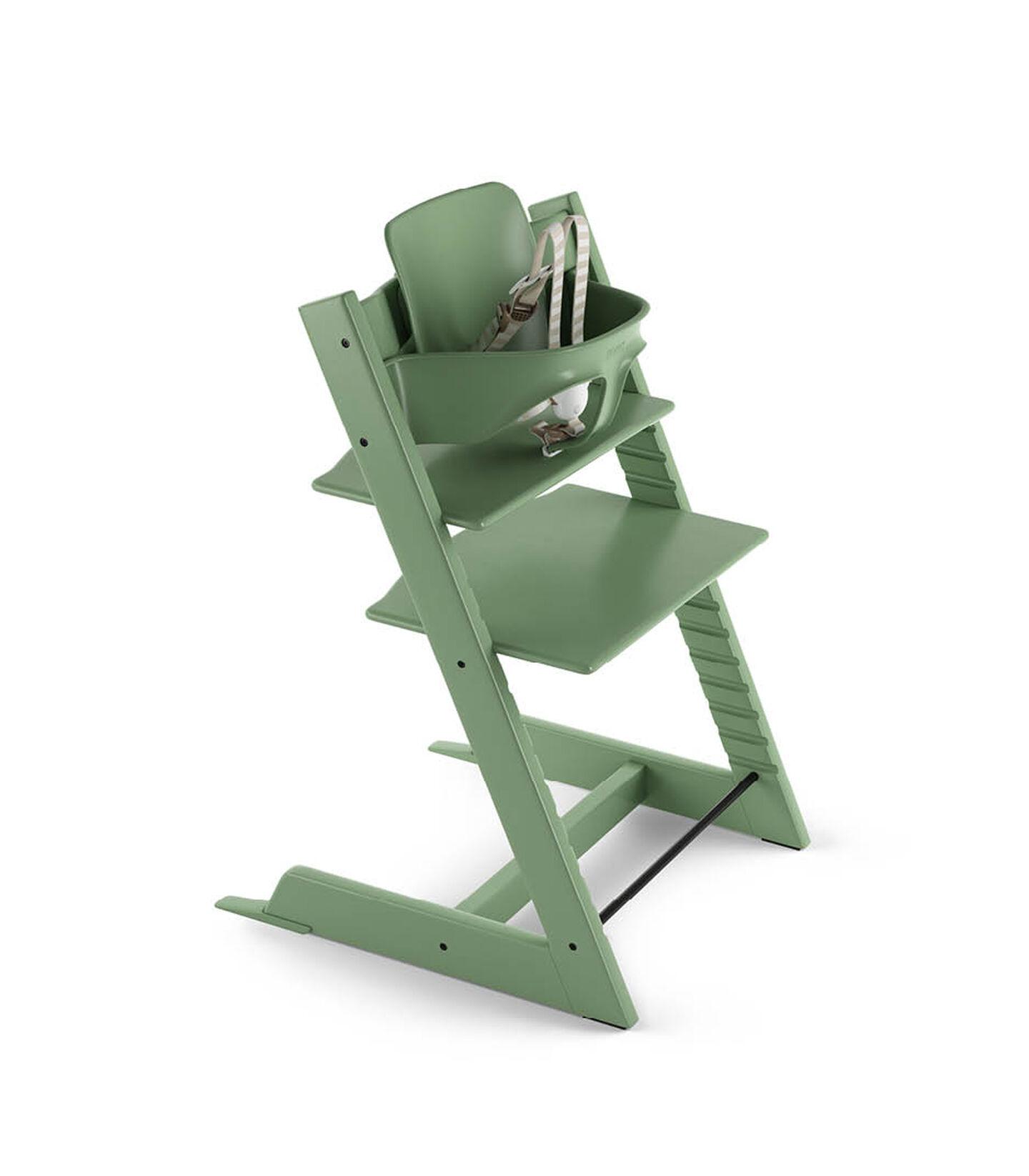 Tripp Trapp® Bundle High Chair US 18 Moss Green, Moss Green, mainview view 2