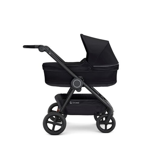 Stokke® Beat™ with Carry Cot, Black.