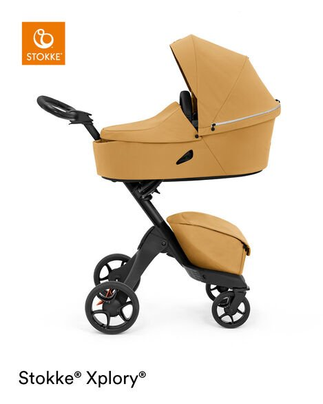 Stokke® Xplory® X Carry Cot Golden Yellow, Золотисто-желтый, mainview view 9