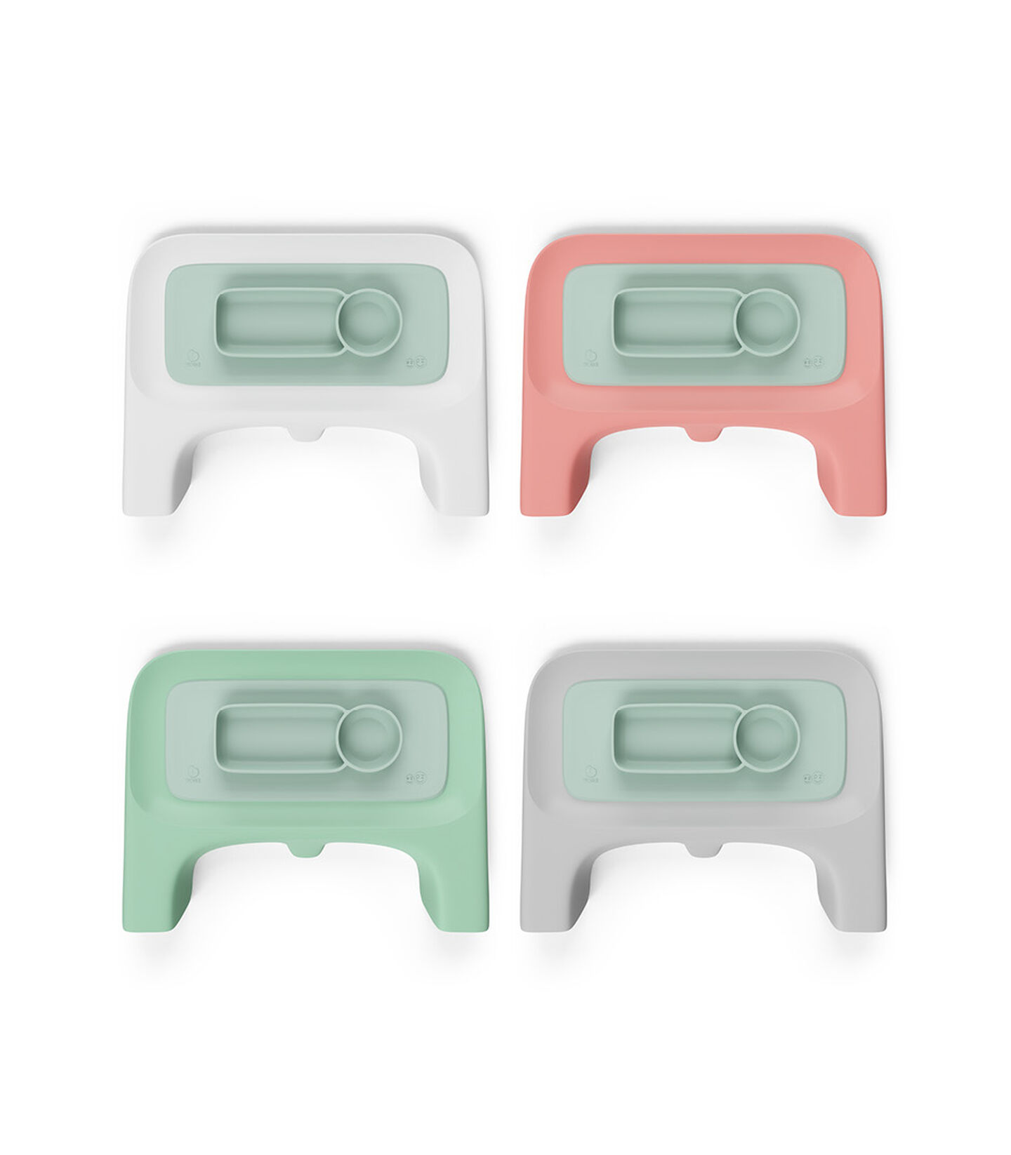 ezpz™ by Stokke™ placemat for Clikk™ Tray Soft Mint, Zacht mint, mainview view 4