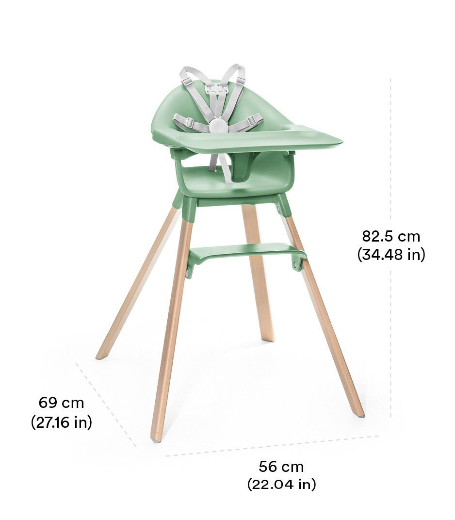 Stokke® Clikk™ High Chair Soft Pink view 1