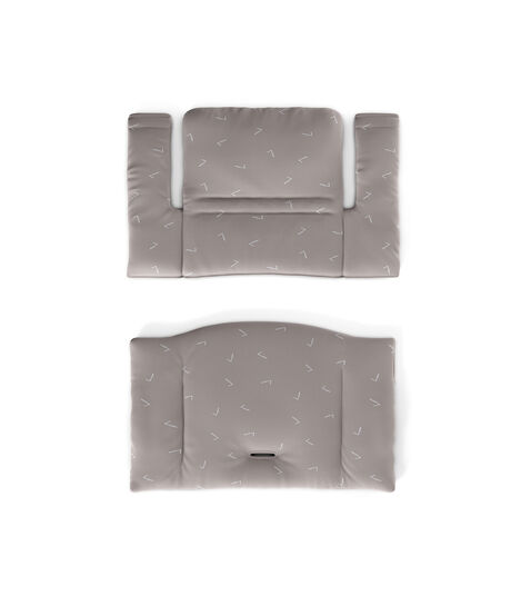 Tripp Trapp® Classic Cushion Icon Grey, Grijs met dessin, mainview view 2