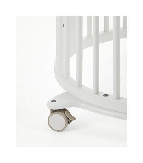Stokke® Sleepi™ Mini Bundle w Matt White, White, mainview view 5