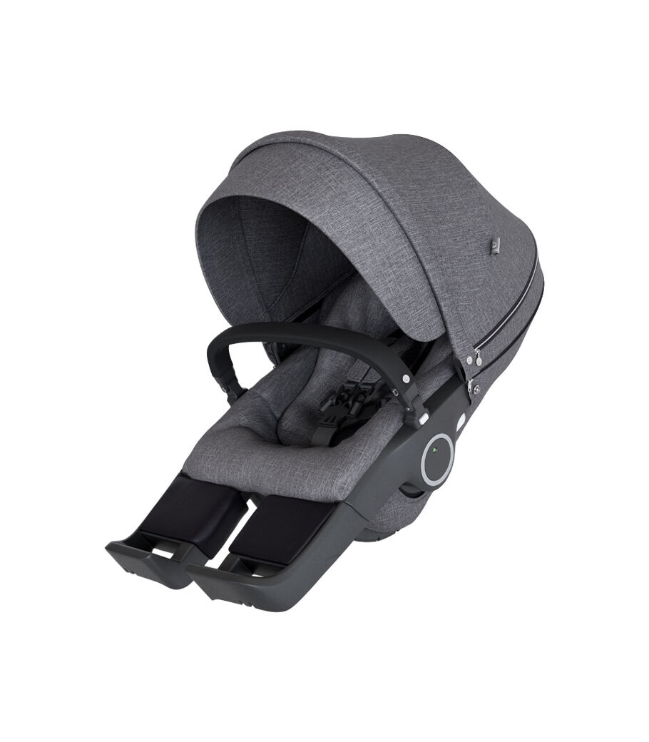 Stokke® Kinderwagensitz, Black Melange, mainview