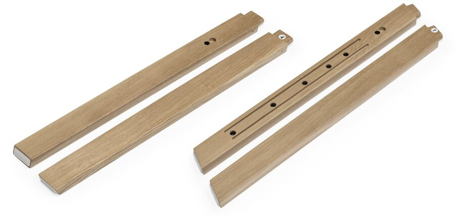Stokke® Steps™ Wood leg set, Oak Natural. Complete.