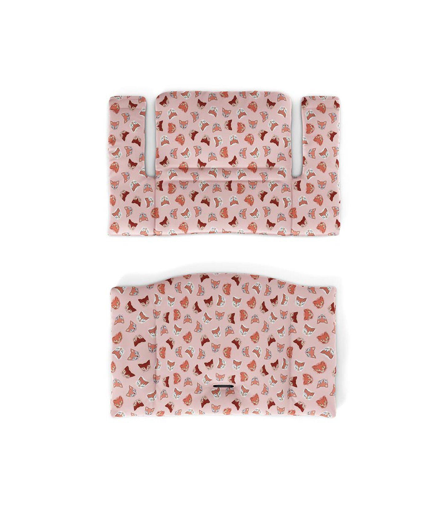 Tripp Trapp® Classic Cushion Pink Fox. Flatlay. view 2