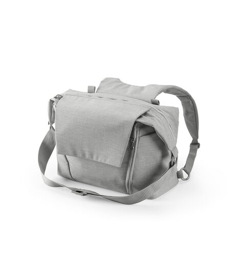Stokke® Stroller Changing Bag, Grey Melange. view 3