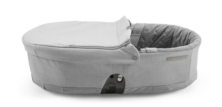 Stokke® Scoot™ Carry Cot, Grey Melange.