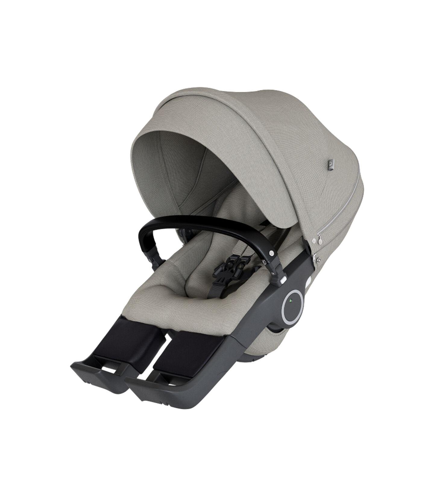 Stokke® Stroller Seat Brushed Grey, Brushed Grey, mainview