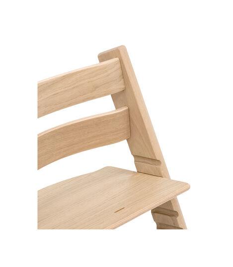 Tripp Trapp® Chair close up 3D rendering Oak Natural