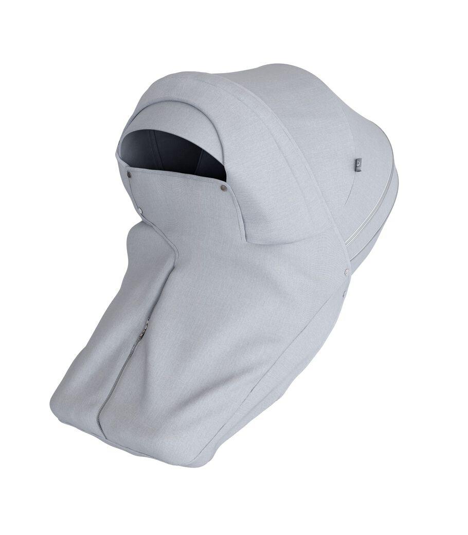 Stokke® Stroller Storm Cover Grey Melange.