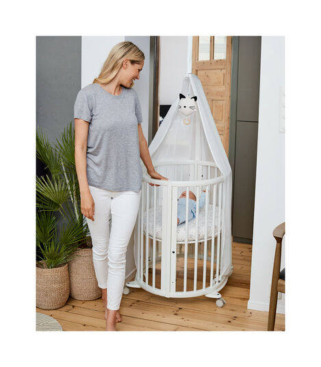Stokke® Sleepi™ Sengehimmel White, White, mainview view 4