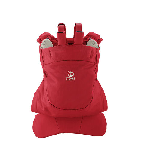Stokke® MyCarrier™ Back Carrier Red. view 3