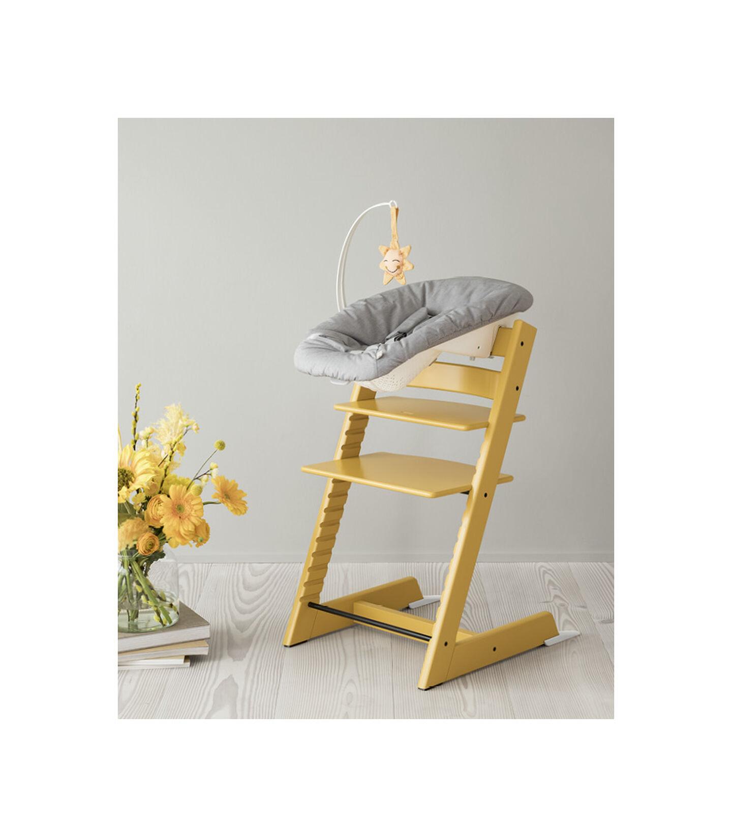 Tripp Trapp® Chair Sunflower Yellow with Newborn Set view 6