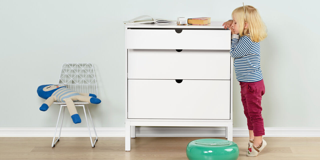 Stokke® Home™ Dresser. for WEB use. view 1