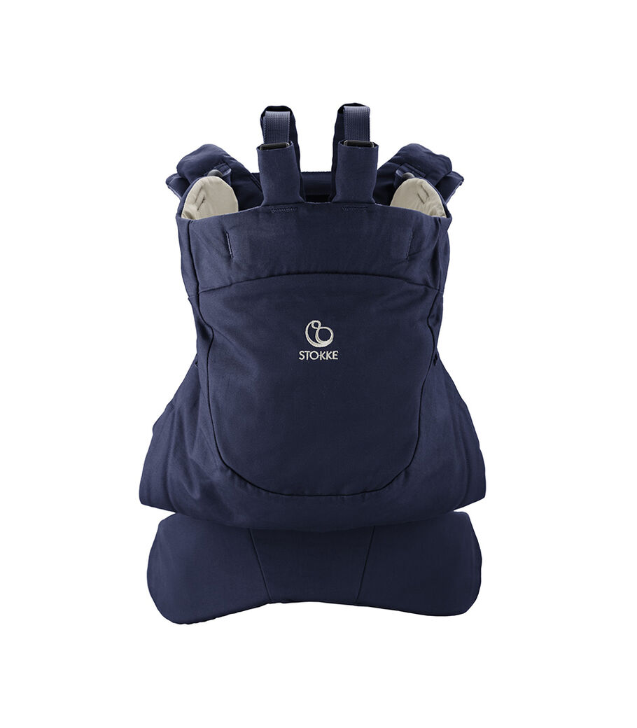 Stokke® MyCarrier™ Back Carrier Deep Blue.