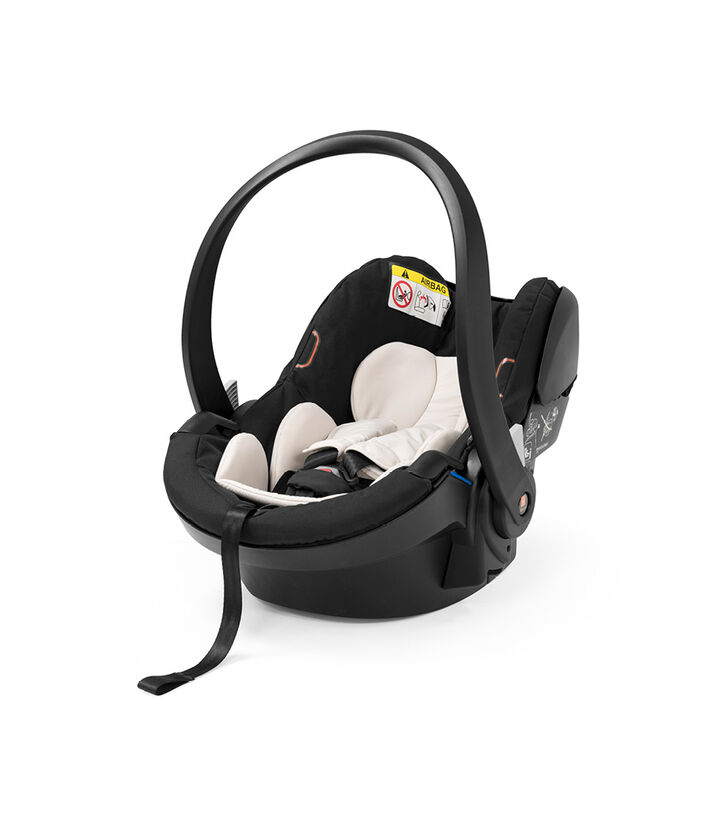 Stokke® iZi Go Modular™ X1 by BeSafe® Black, Noir, mainview view 1