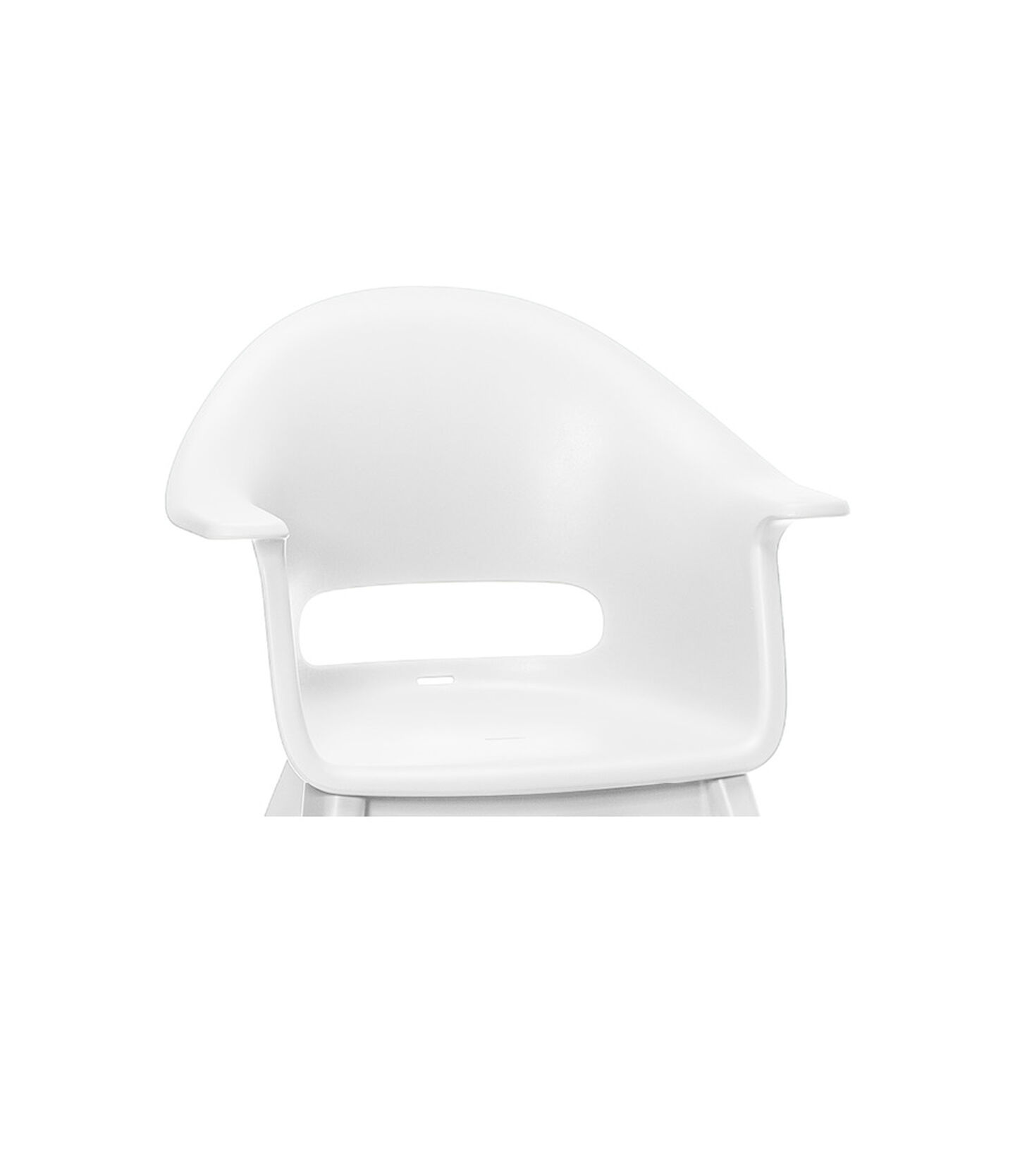 Trona Stokke® Clikk™ White, Blanco, mainview view 2