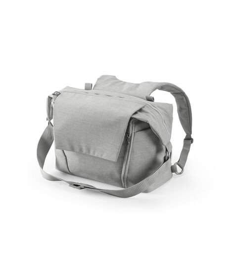 Stokke® Changing Bag Grey Melange, Grey Melange, mainview view 3