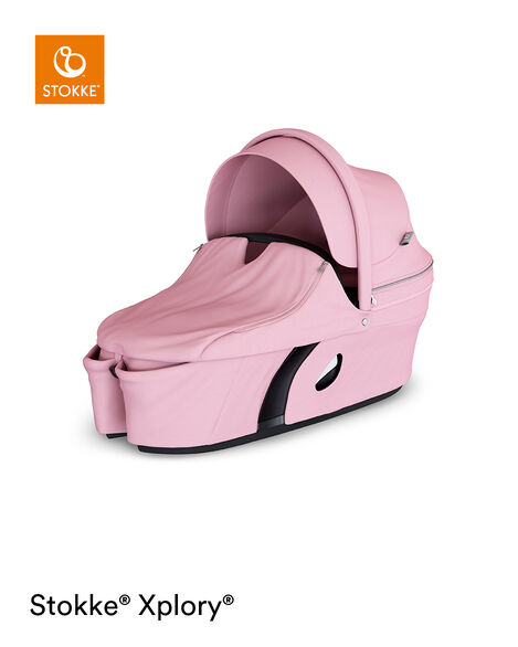 Stokke® Xplory® Carry Cot Complete Lotus Pink, Розовый лотус, mainview view 4