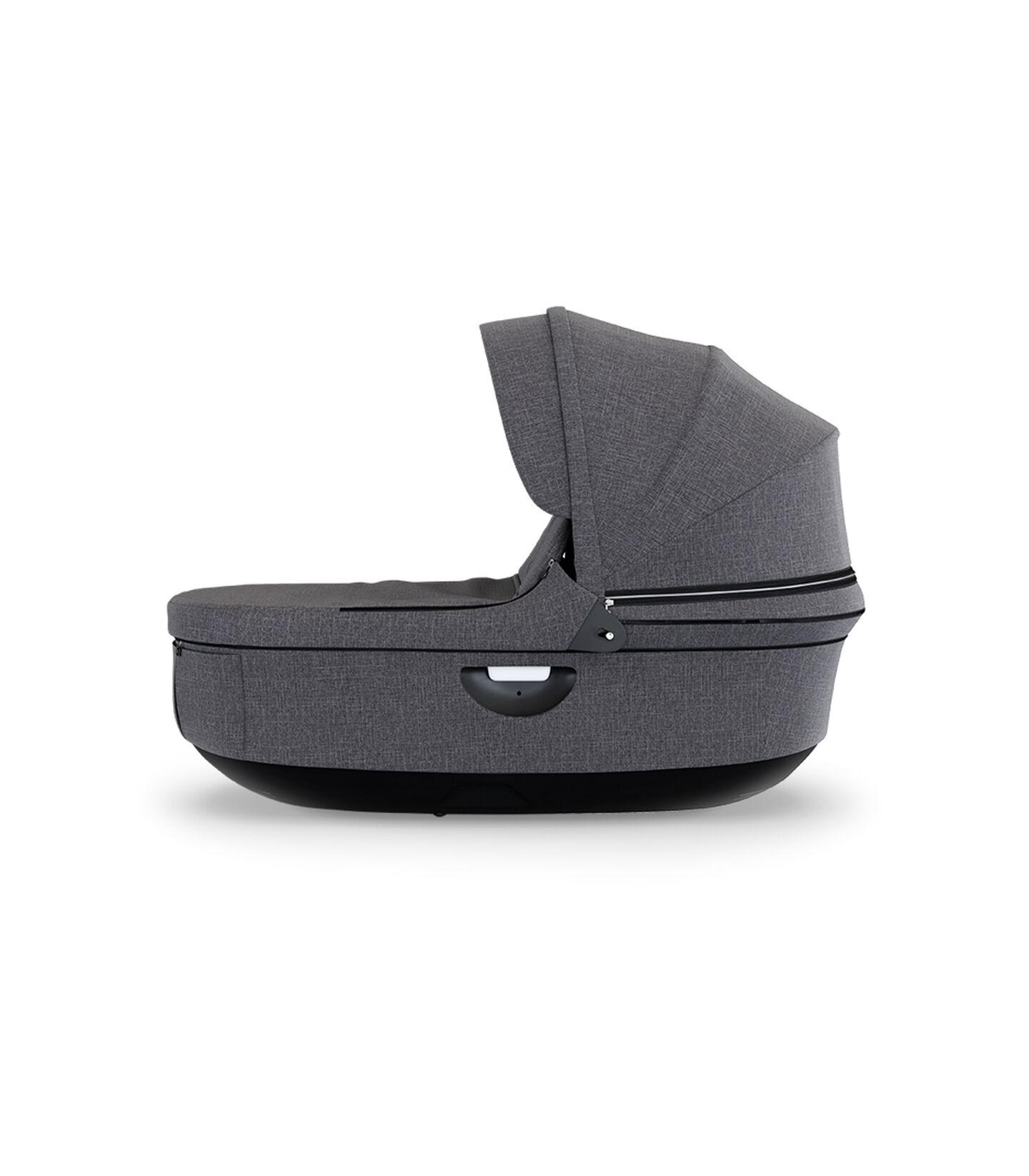 Stokke® Stroller Black Carry Cot Black Melange, Noir mélange, mainview view 2