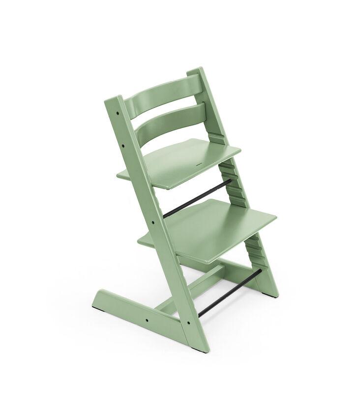 Tripp Trapp® chair Moss Green, Beech wood. view 1