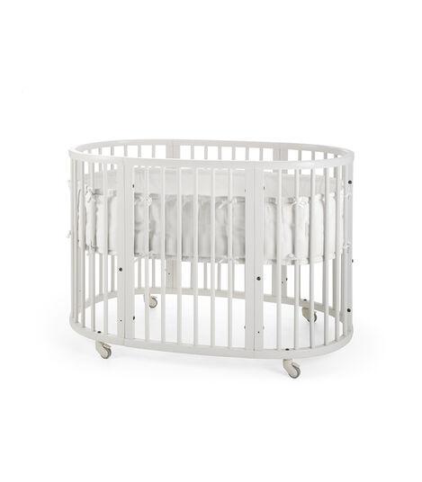 Stokke® Sleepi™ Bumper White, Blanco, mainview view 4