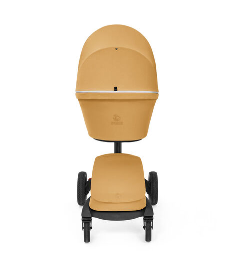 Stokke® Xplory® X Golden Yellow Stroller with Seat. view 4