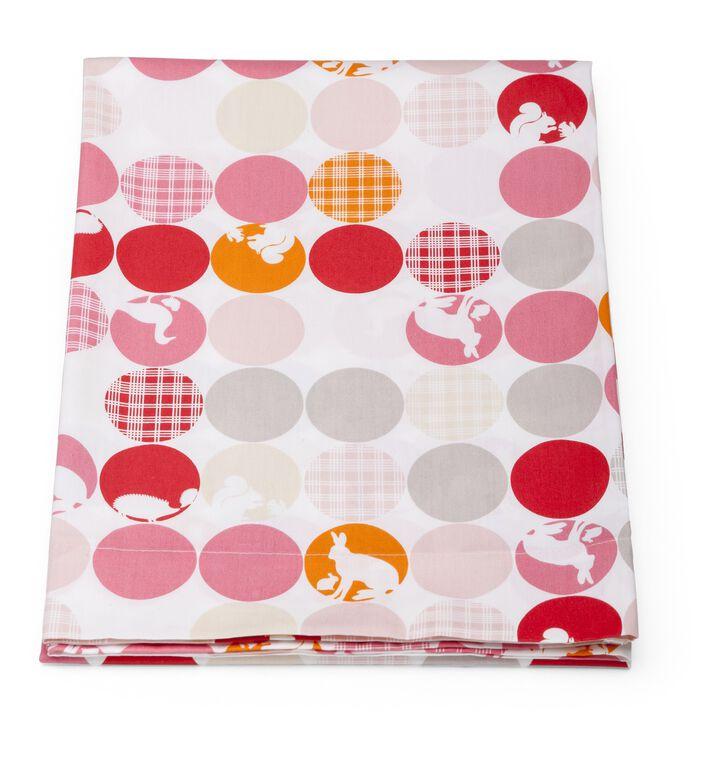 Flat Sheet, Silhouette Pink
