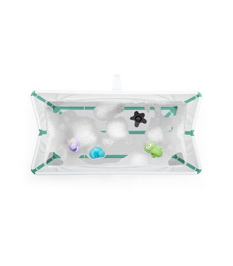 Stokke® Flexi Bath® Heat Bundle White Aqua, Blanco Agua, mainview view 5