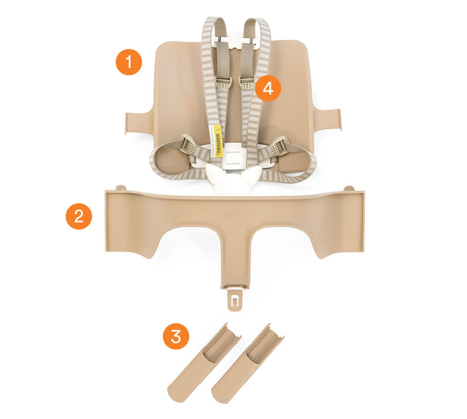 Tripp Trapp® Baby Set Natural, , WhatsIncl view 1