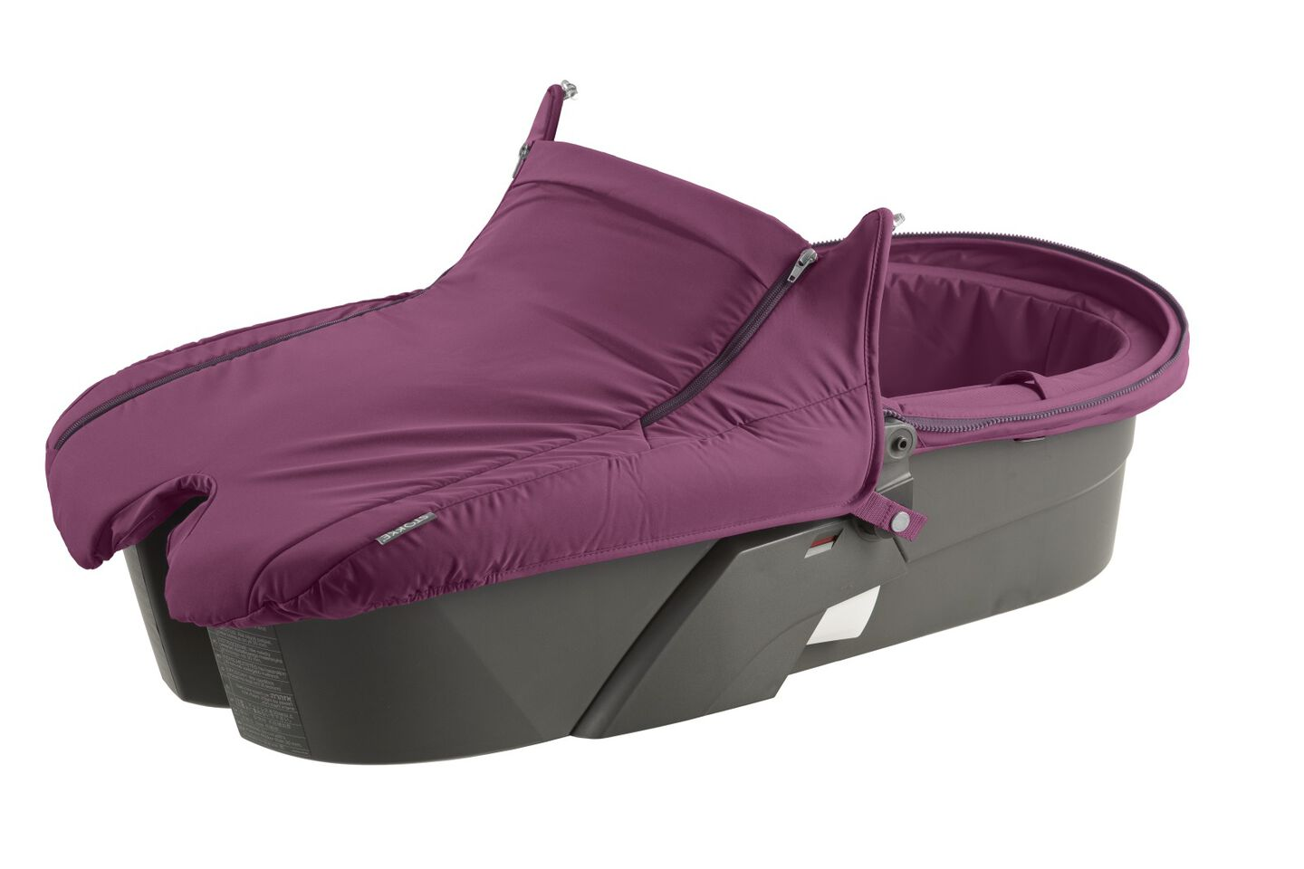 Carry Cot without Hood, Purple.