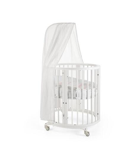 Stokke® Sleepi™ Mini Bumper White, White, mainview view 4