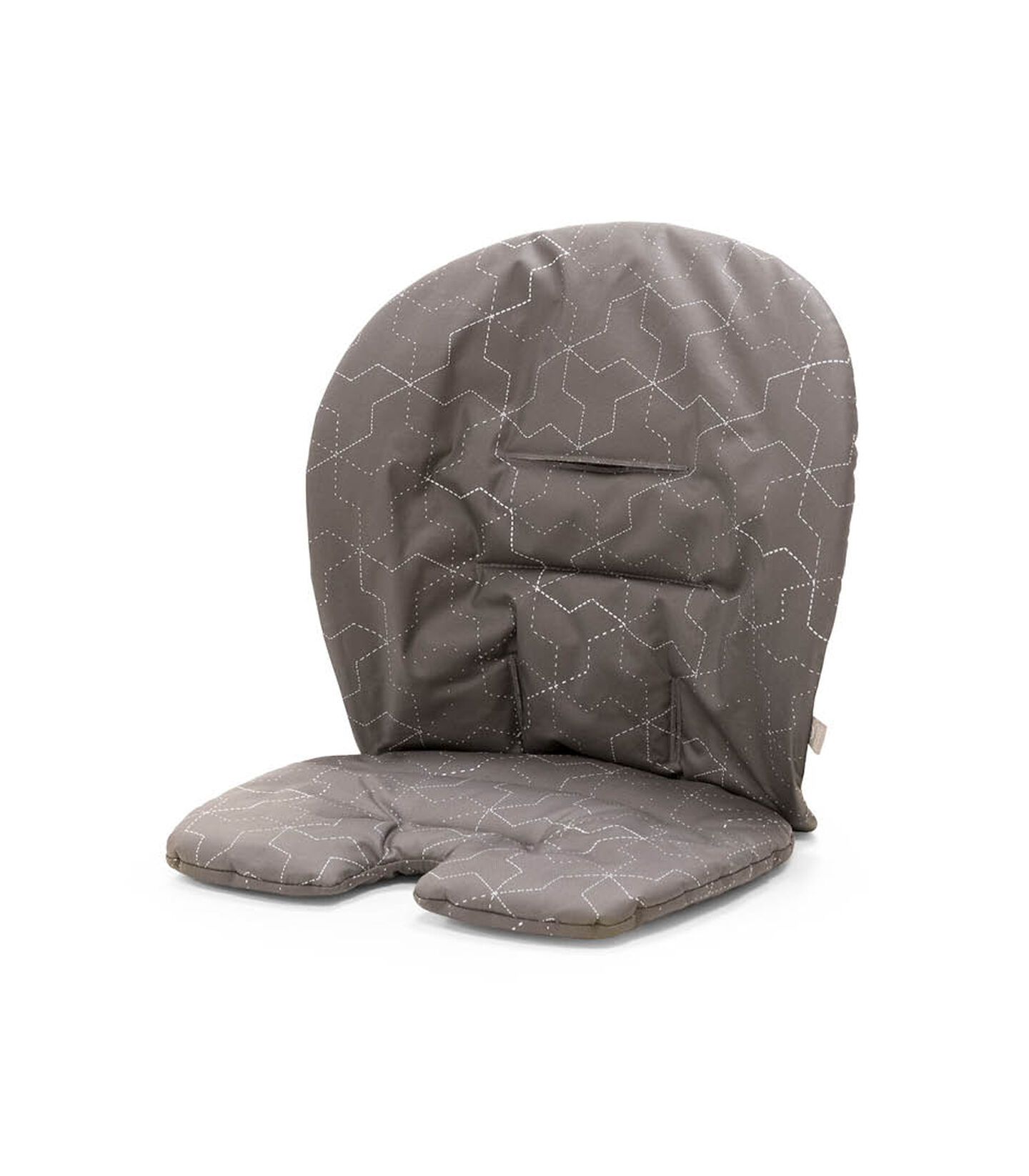 Stokke® Steps™ Baby Set Cushion Geometric Grey, Geometric Grey, mainview view 1