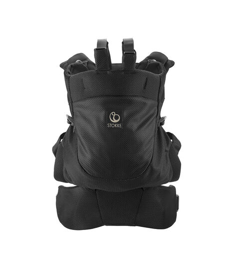 Stokke® MyCarrier™ Back Carrier Black Mesh. view 3