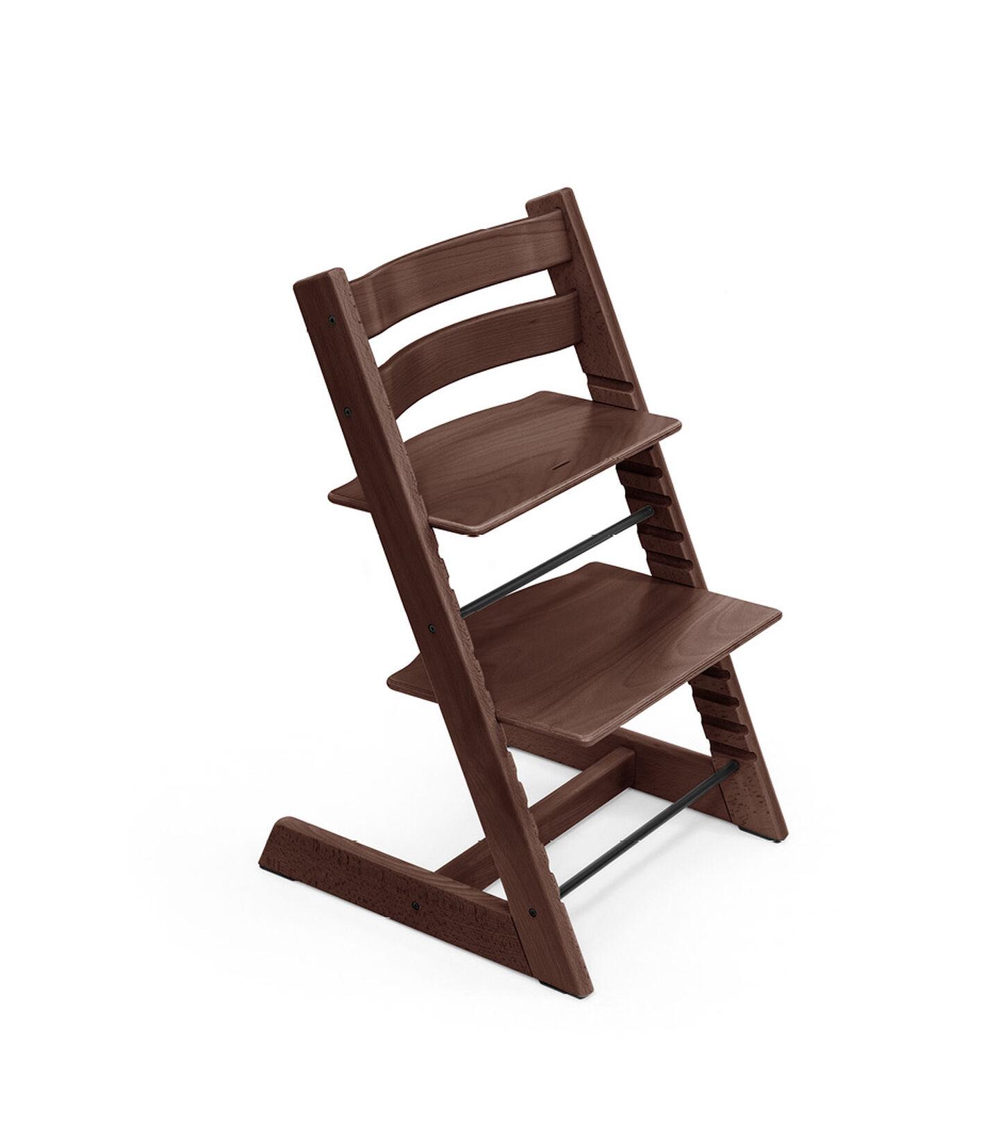 Tripp Trapp® chair Walnut Brown, Beech Wood. view 1