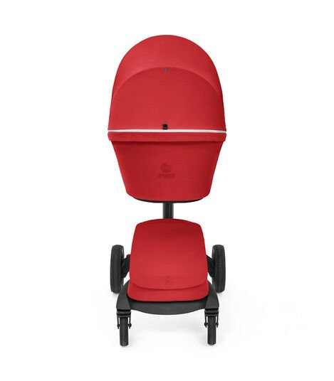 Stokke® Xplory® X Ruby Red Stroller with Seat. view 5