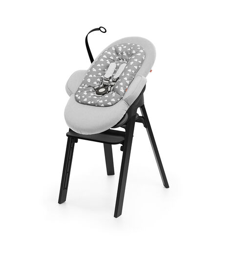 Stokke® Steps™ Bouncer Grey Clouds, Grey Clouds, mainview view 4