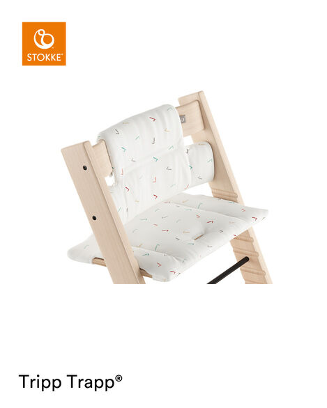 Tripp Trapp® Natural with Classic Cushion Icon Multicolor.  view 5