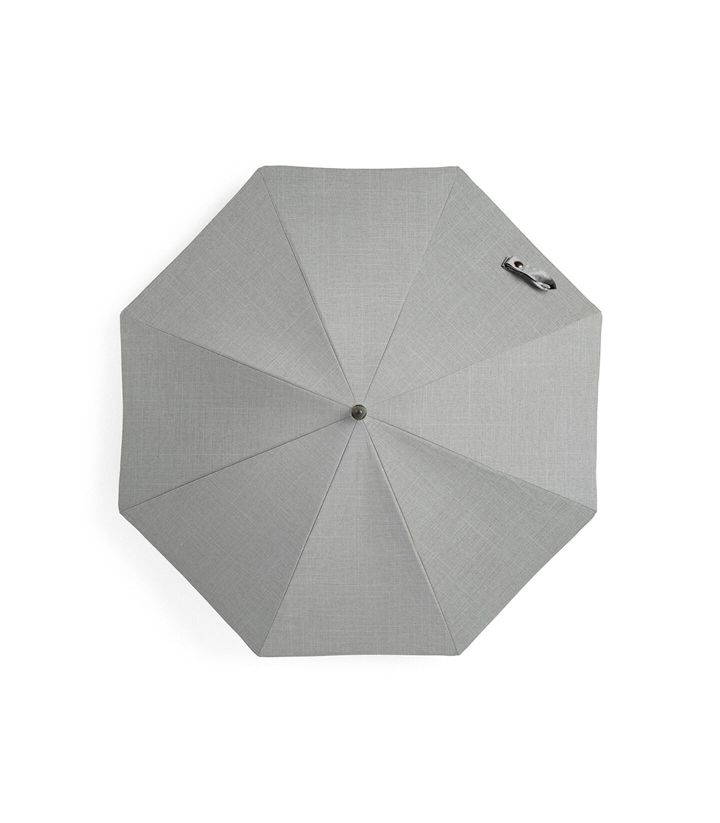 Stokke® Xplory® Black Parasol Grey Melange, Grey Melange, mainview view 1