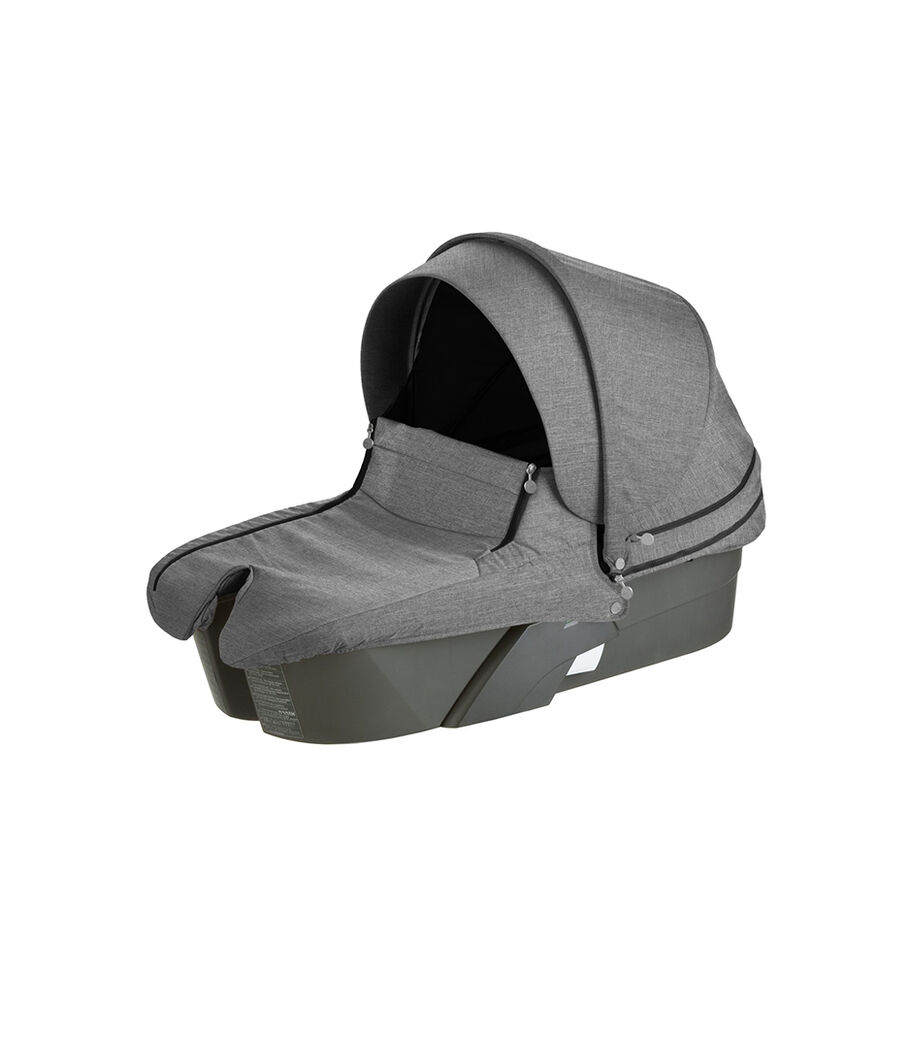 Stokke® Xplory® Carry Cot, Black Melange.
