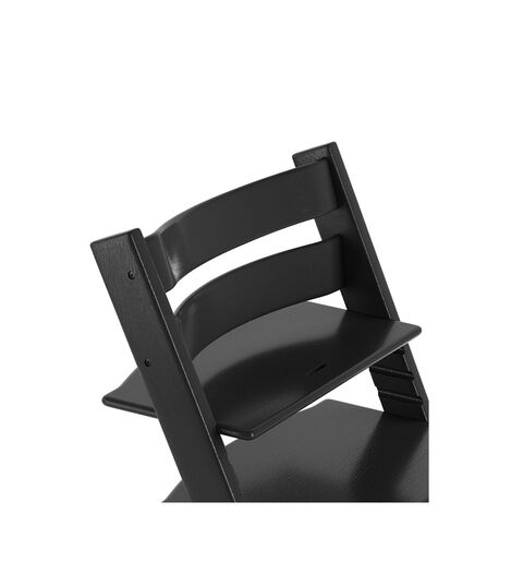 Tripp Trapp® Chair close up 3D rendering Oak Black