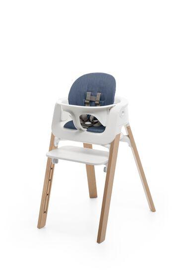 stokke steps chair high chairs stokke. Black Bedroom Furniture Sets. Home Design Ideas