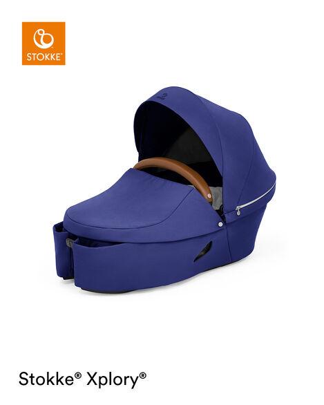 Stokke® Xplory® X Carry Cot Royal Blue, Royal Blue, mainview view 8
