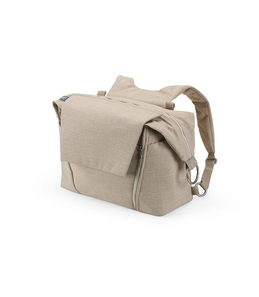 Stokke® Stroller Changing Bag, Beige Melange view 23