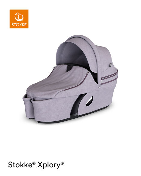 Stokke® Xplory® Carry Cot Complete Brushed Lilac, Lila, mainview view 6