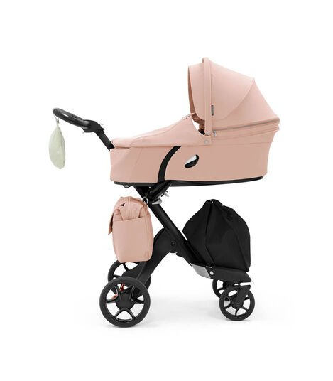 Stokke® Xplory® 6 Balance Limited Edition with Stokke® Xplory® Carry Cot. Soothing Pink. view 4