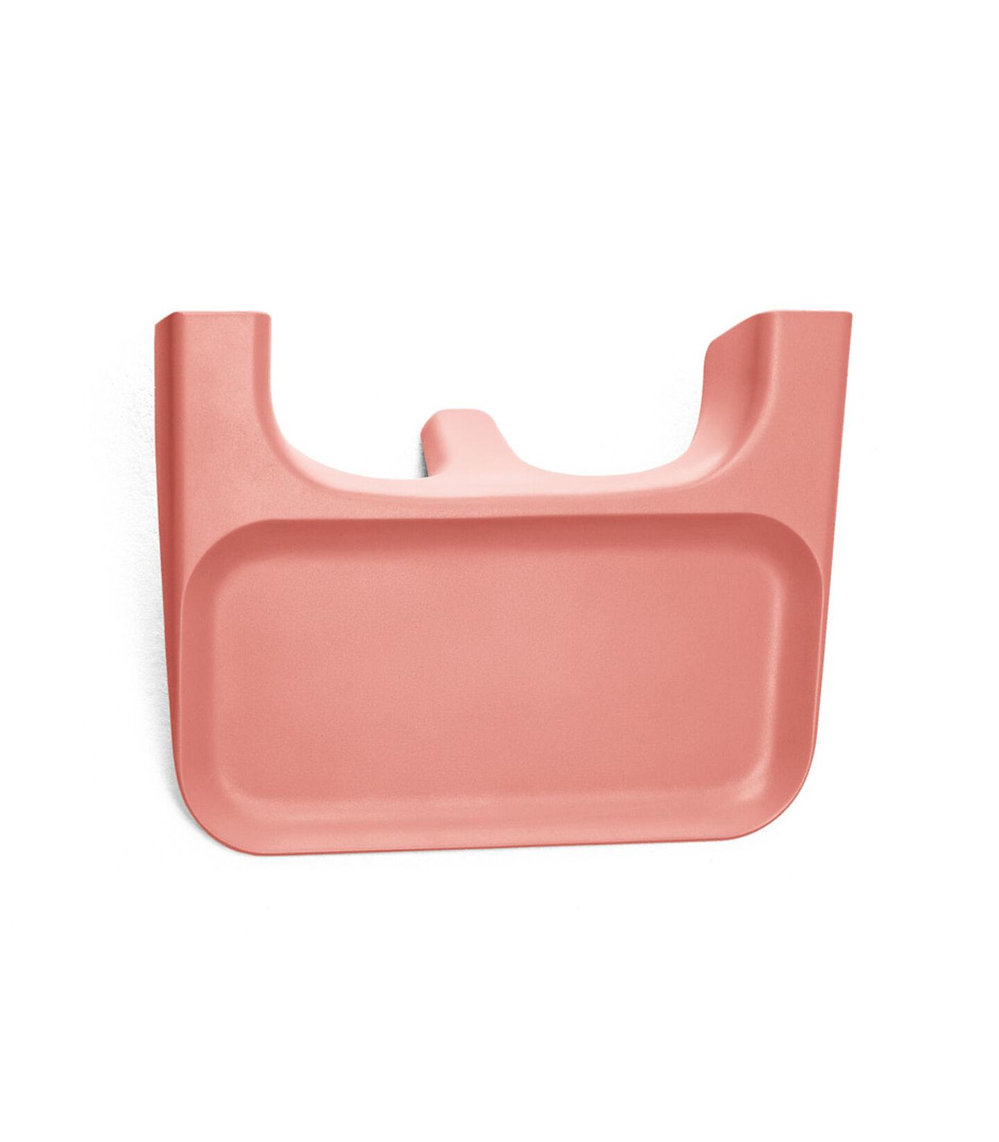 Stokke® Clikk™ Vassoio Sunny Coral, Corallo Acceso, mainview view 1
