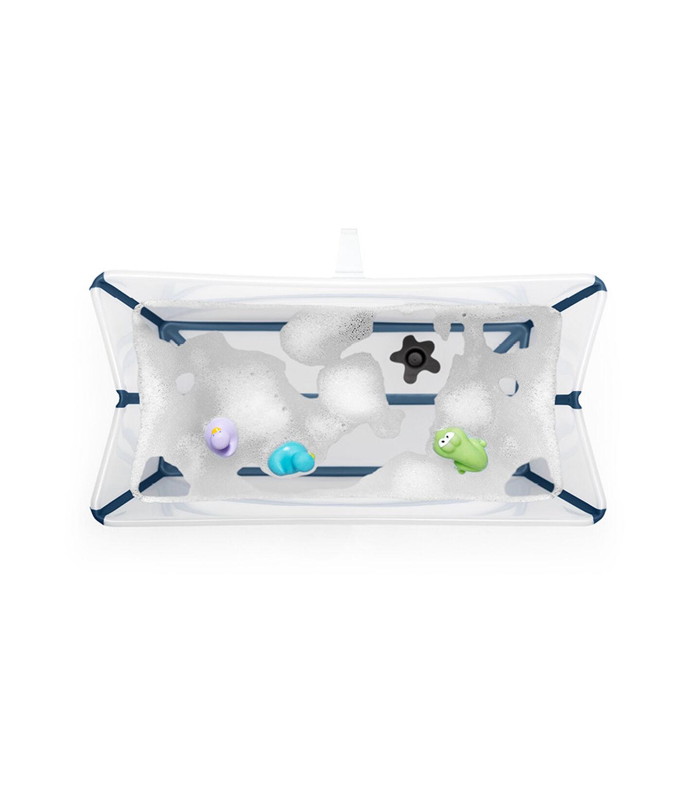 Stokke® Flexi Bath ® Large White Aqua, Transparent bleu, mainview view 3